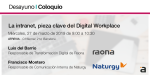 Coloquio: La intranet pieza clave del Digital Workplace